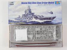 Trumpeter 05720 Russian Navy Slava Cruiser Moskva Moskau NEU OVP 1607-03-65