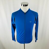 Pearl Izumi Ultra Sensor Blue Full Zip Bike Cycling Jersey Mens Medium M