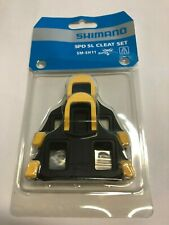 SHIMANO SM-SH11 SPD SL CLEAT SET - 6 Degrees Float - USA SELLER - NEW in PACKAGE