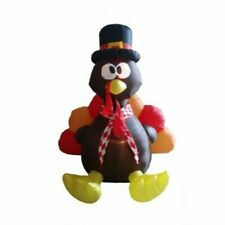 BZB Goods 6 Foot Thanksgiving Inflatable Turkey