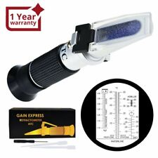 6-in-1 Automotive Car Refractometer ATC for Adblue/ Antifreeze