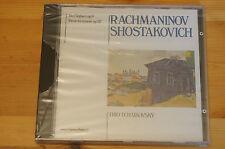 Rachmaninov Shostakovich Tro op9/67 Rare IMPORT Tri Tchaikovsky CD Dynamic Italy