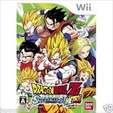 Used Wii Dragon Ball Z Sparking! Meteor DBZ JAPAN JP JAPANESE JAPONAIS IMPORT