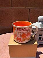 New Starbucks Arizona Been There Series Coffee Mug Tea Cup 14 Oz ....V1