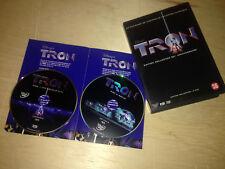 """EO MOEBIUS 2002 """"TRON"""" 2 DVD DESSIN ANIMÉ +5H. de Bonus genre L'INCAL,VALÉRIAN"""