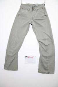 Levis Engineered (Code W272) Tg41 W27 L32 Jeans Utilisé Vintage Antiform Largo