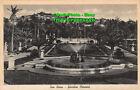R448775 San Remo. Giardini Ormond. Saluti da S. Remo. 1936. Fotogravure Cesare C