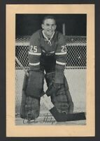 1944-63 Beehive Group II Montreal Canadiens Photos #251B Charlie Hodge