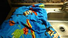 Kids Hooded Poncho Towel Beach Swimming Pool Bath Toddler Baby Frogs Monkeys