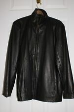 LEATHER JACKET-Canyon Outback Women's Finger-Length - Black XL