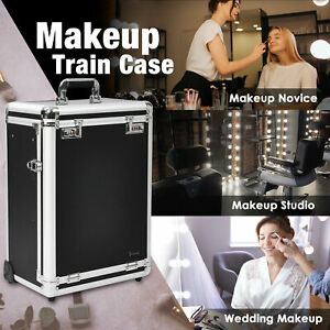 Byootique Professional Rolling Travel Makeup Case Jewelry DrByootiqueers
