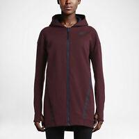 Nike Sportswear Women's Tech Fleece Mesh Cocoon Jacket 725844-681