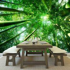 Bosque verde Fotomurales Árboles de la naturaleza murales pared Salón dormitorio