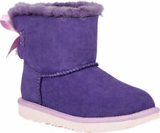 NEW INFANT TODDLER  UGG BOOT MINI BAILEY BOW II 1017397T - Violet Bloom