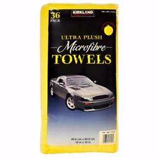36pce Kirkland Signature Ultra Soft Plush Microfibre car Towels Cloths 40cmx40cm
