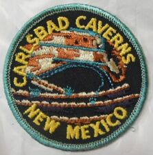 """Carlsbad Cavern Embroidered Patch New Mexico 3"""""""