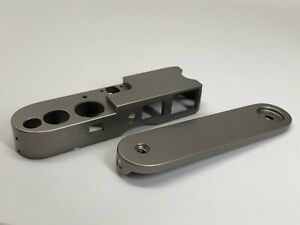 Leica M6 TTL Titanium - Top And Bottom Plates (parts) New Old Stock