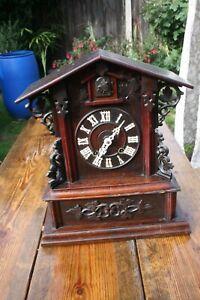 Antique Black Forest Cuckoo Clock for Restoration