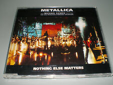 CD PROMO COLLECTOR METALLICA NOTHING ELSE MATTERS RARE JEWEL CASE COMME NEUF