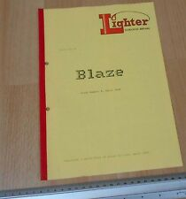 Blaze Lighter Club Of Great Britain Issue 4 April 1991 Club mag