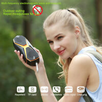 Portable Bluetooth 4.1 Speaker 3D Stereo Waterproof Subwoofer Mosquito Reject