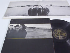 U2 The Joshua Tree - PORTUGAL LP - BMG Ariola release ENGLISH Titles - VERY RARE