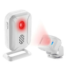 Wireless PIR Motion Sensor Detector Alarm Door Chime For Home Store Business