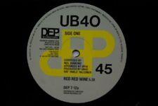 "Reggae/Ska 45RPM Speed UB40 Artist Reggae & Ska 12"" Singles"