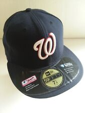 Washington Nationals Authentic On-Field Cap 7 1/4 Lightly Used Still Has Sticker