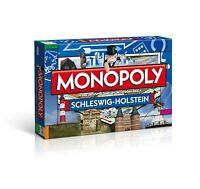 Original Monopoly Schleswig-Holstein Region Edition Ausgabe Brettspiel Spiel NEU