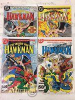 The Shadow War of Hawkman #1-4 Comic Book Set DC 1985