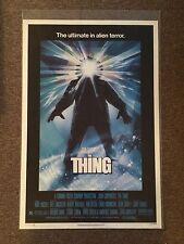 The Thing 1982 Original Movie Poster Rolled Horror Sci-Fi John Carpenter
