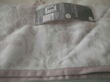 NEXT MAUVE/WHITE HAND TOWELS X 2 NEW WITH TAGS