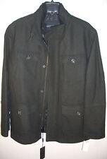 Marc New York by Andrew Marc Men's Travis Wool-Blend Military Jacket XL BRANDNEW
