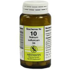 BIOCHEMIE 10 Natrium sulfuricum D6 Tabletten   100 st   PZN5955583