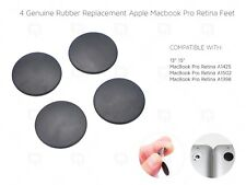 Apple MacBook Pro Retina REAL Rubber Feet & Strong Adhesive A1398/A1425/A1502