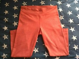 Under Armour Three Quarter Length Tights Orange Size XS approx