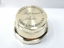 New listing Record Stabilizer, Vsbra-756 Solid Brass Anti-vibration Vinyl Record Weight