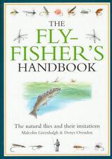 GREENHALGH FISHING & FLYTYING BOOK FLYFISHERS HANDBOOK hardback BARGAIN new