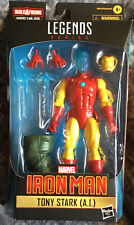 2021 Marvel Legends Shang-Chi AI Tony Stark Iron Man BAF Mr Hyde C8/9