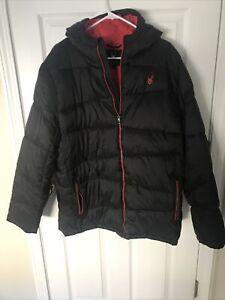 NWT! Men's Spyder Nexus No Cuff Puffer Jacket Black Size X-Large XL