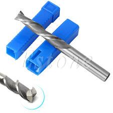 5Pcs 2 Flute Extra Long 6mm HSS & Aluminium End Mill Cutter CNC Bit Extended