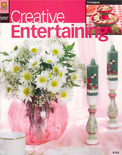 CREATIVE ENTERTAINING Decor Painting Patterns Book  New