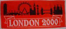 London #2 Red Bar Towel- New