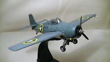 Vintage US Wildcat 1942 F4F plane jet machine age industrial loft desk model