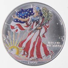 Better Date 1999 American Silver Eagle 1 Troy Oz .999 Fine Silver *154