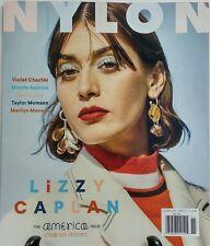 Nylon Nov 2016 Lizzy Caplan The America Issue Taylor Momsen FREE SHIPPING sb