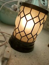 ScentSationals Full-Size Wax Warmer, Bronze Lantern Frosted Glass pirate ship