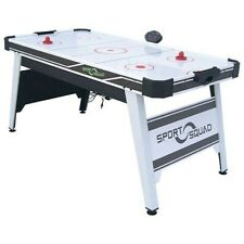 Sport Squad 66in Table Tennis/ Air Hockey Table - White/Black/Grey