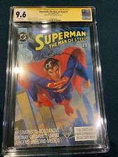 SUPERMAN MAN OF STEEL #1 cgc 9.6 Signed  By LOUISE SIMONSON.